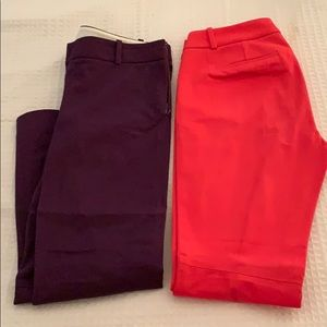 Jcrew skinny dress pant